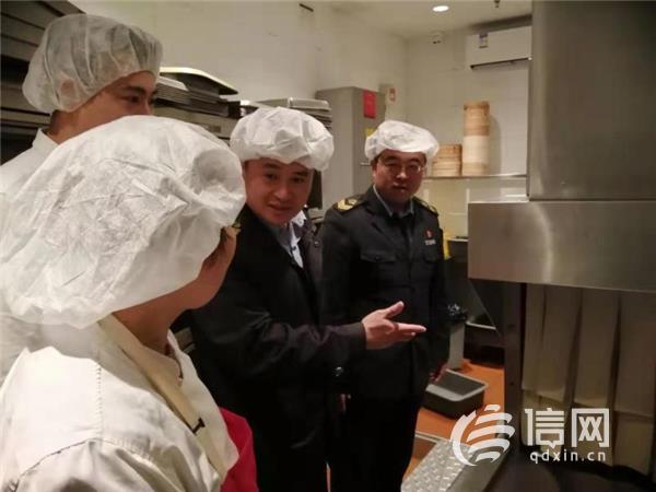 崂山区米奇影院监管局严查知名网红店 确保饮食安全